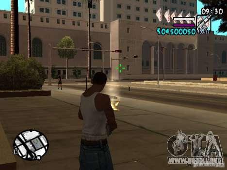 HUD by Hot Shot v.2 para GTA San Andreas
