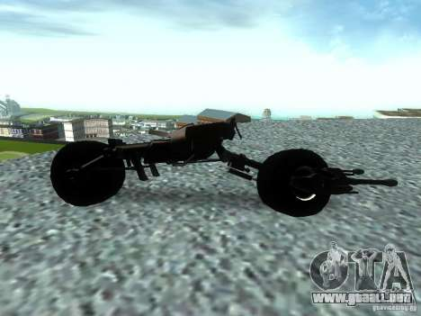 Batpod para GTA San Andreas left