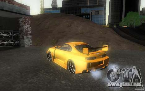 Toyota Supra Chargespeed para GTA San Andreas left