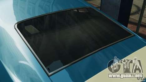 Ford Mustang Mach I 1973 para GTA 4 vista superior