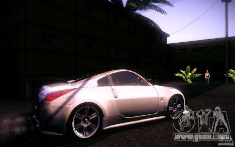 Nissan 350Z Fairlady para GTA San Andreas left