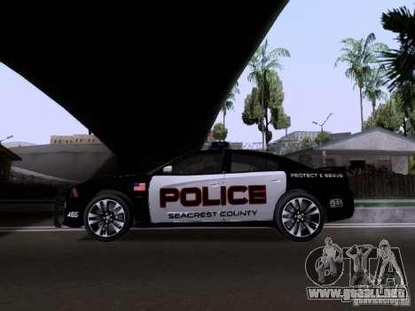 Dodge Charger SRT8 2011 V1.0 para GTA San Andreas left