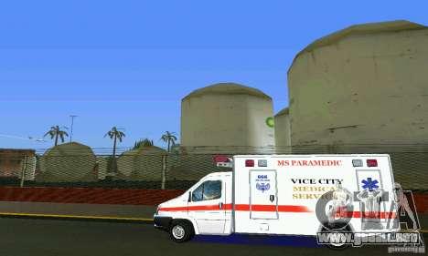 RTW Ambulance para GTA Vice City left