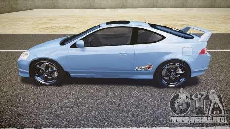Acura RSX TypeS v1.0 Volk TE37 para GTA 4 left