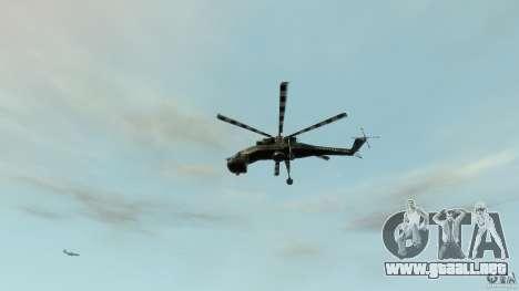 Liberty Sky-lift para GTA 4 vista superior
