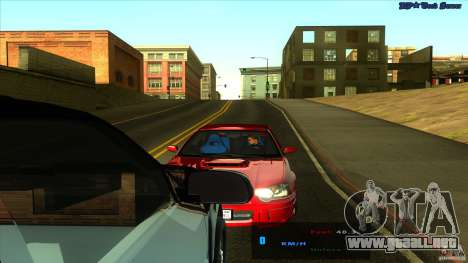 ENBSeries 0.75c para GTA San Andreas quinta pantalla