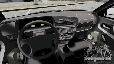 Vaz-2114 v1.1 para GTA 4 vista interior