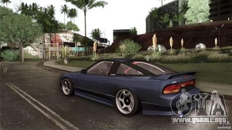 Nissan 240SX S13 Drift Alliance para la vista superior GTA San Andreas