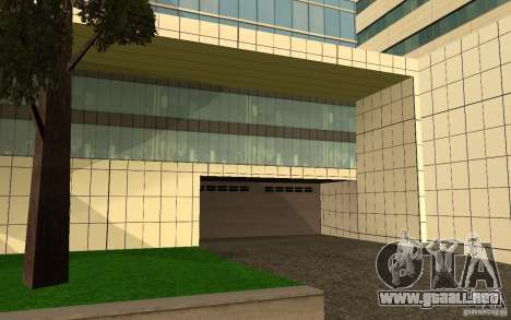 UGP Moscow New General Hospital para GTA San Andreas quinta pantalla
