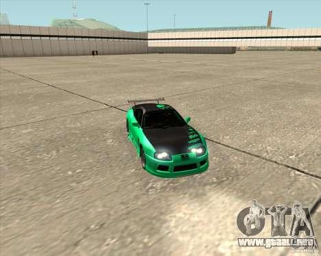 Toyota Supra ZIP style para la vista superior GTA San Andreas