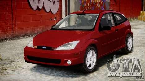 Ford Focus SVT para GTA 4 vista hacia atrás
