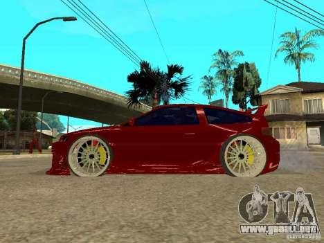Honda CRX ED9 para GTA San Andreas left