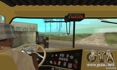 International Transtar II 1975 para la visión correcta GTA San Andreas