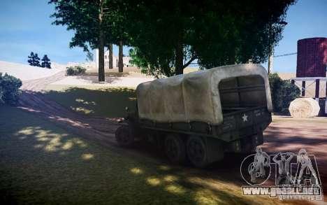 Millitary camión de Mafia II para GTA 4 left