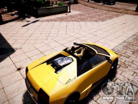 Lamborghini Murcielago LP650-4 Roadster para GTA 4 visión correcta
