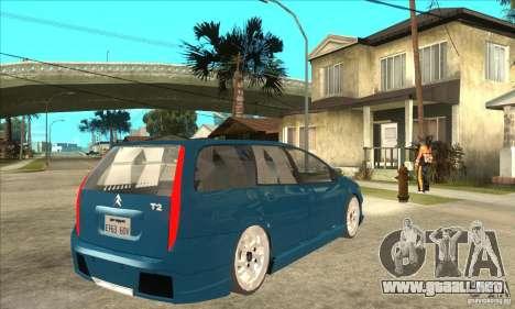 Citroen C5 Break para la visión correcta GTA San Andreas