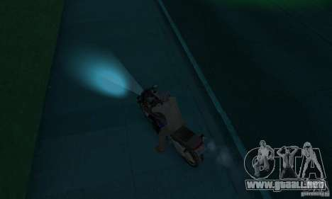 Lámparas de color neón para GTA San Andreas tercera pantalla