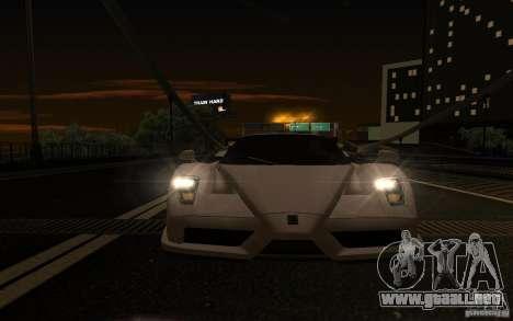 Ferrari Enzo ImVehFt para visión interna GTA San Andreas