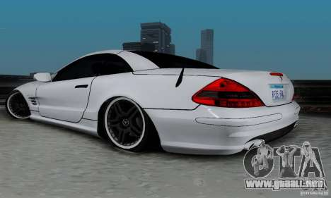 Mercedes Benz SL 65 AMG para GTA San Andreas left