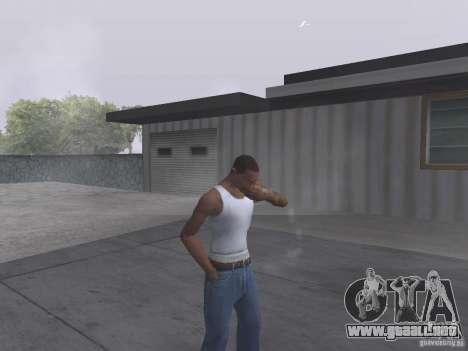 La capacidad de humo para GTA San Andreas