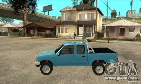 Toyota Hilux CD para GTA San Andreas left