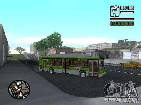 LIAZ 5292.70 para GTA San Andreas vista hacia atrás