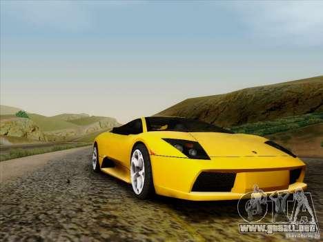 Lamborghini Murcielago LP640-4 para GTA San Andreas left