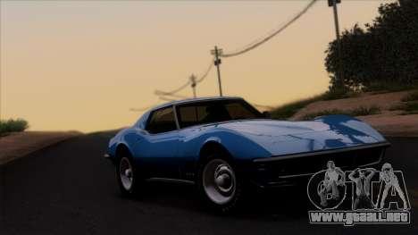 Chevrolet Corvette C3 Stingray T-Top 1969 v1.1 para GTA San Andreas