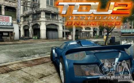 Gumpert Apollo Sport para GTA 4 vista interior