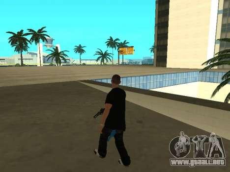 Black Rifa SkinPack para GTA San Andreas sucesivamente de pantalla