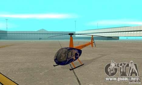 Robinson R44 Raven II NC 1.0 piel 3 para GTA San Andreas left