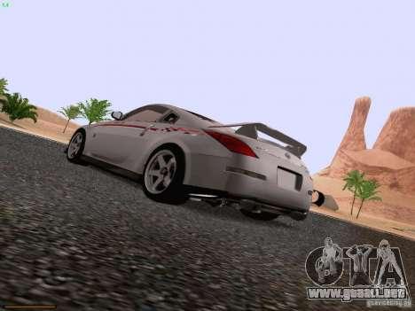 Nissan 350Z Nismo S-Tune para GTA San Andreas left