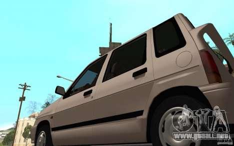 Daewoo Tico SX para GTA San Andreas vista hacia atrás