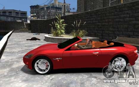 Maserati GranCabrio para GTA 4 left