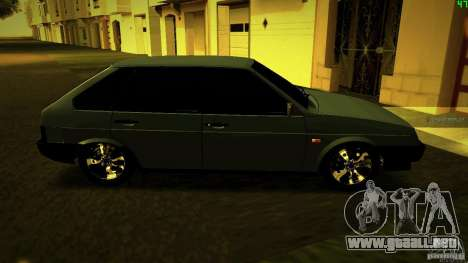 VAZ 2109 luz Tuning para GTA San Andreas left