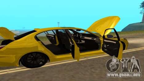 BMW M5 E39 para visión interna GTA San Andreas