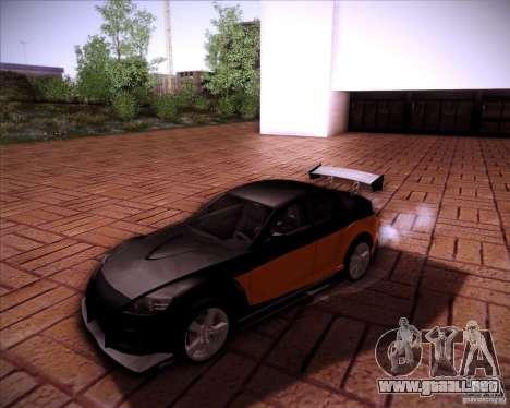 Mazda RX-8 para la vista superior GTA San Andreas