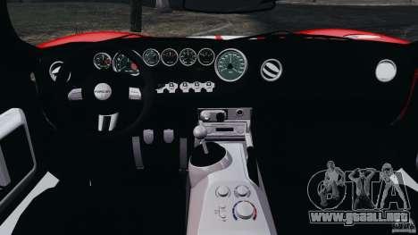 Ford GT 2005 v1.0 para GTA 4 vista hacia atrás