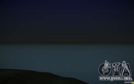 Agua HD v3.0 para GTA San Andreas sucesivamente de pantalla