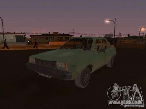 Máquina de CoD: MW para GTA San Andreas