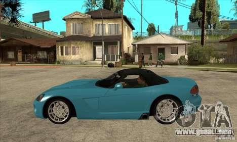 Dodge Viper SRT-10 para GTA San Andreas left