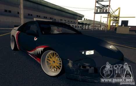 Nissan 300ZX Bad Shark para la vista superior GTA San Andreas