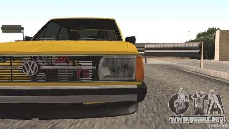 Volkswagen Passat TS 1981 Original para la visión correcta GTA San Andreas