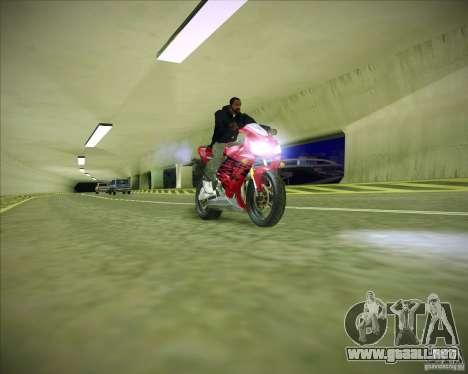 Honda CBR600RR 2005 para la visión correcta GTA San Andreas