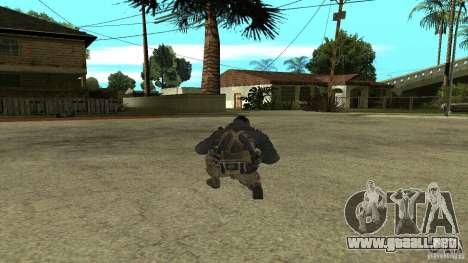 Soap para GTA San Andreas segunda pantalla