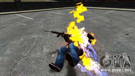 Balas de fuego para GTA 4 tercera pantalla