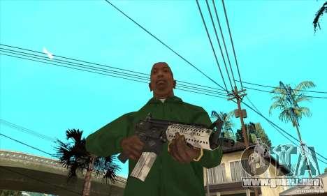 Culata M4 para GTA San Andreas