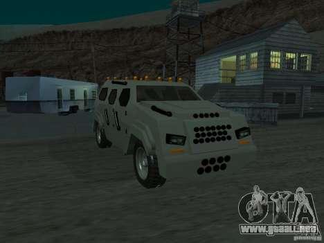 FBI Truck from Fast Five para GTA San Andreas