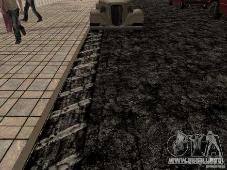New roads in Las Venturas para GTA San Andreas quinta pantalla