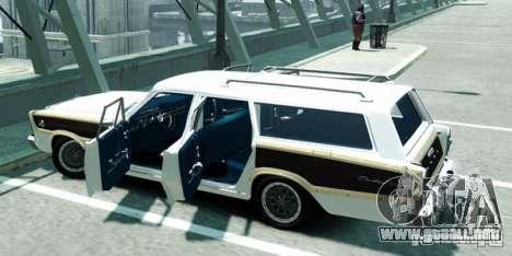 Ford Country Squire para GTA 4 Vista posterior izquierda